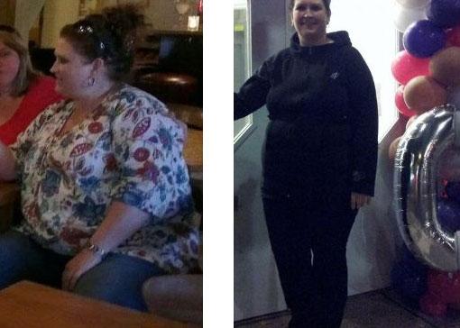 Linda viel 30 kg af